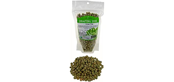 Handy Pantry Organic - Green Pea Sprouting Seeds