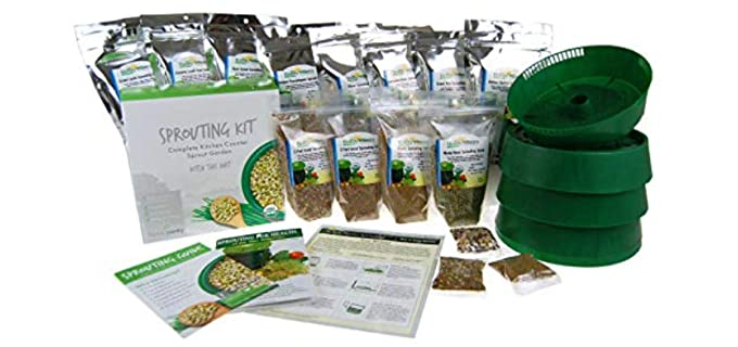 Handy Pantry Store Deluxe - Sprouting Starter Kit