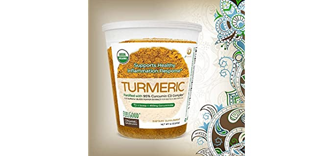 FEELGOOD Superfood - Organic Turmeric Powder