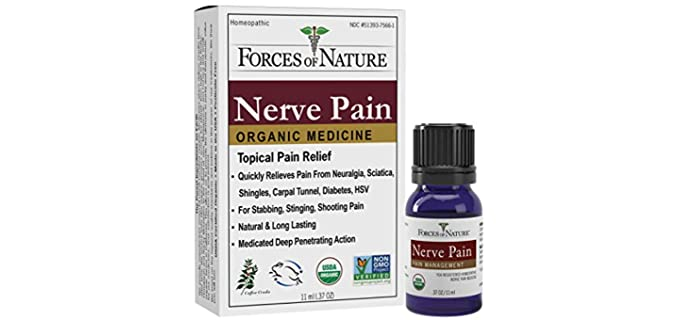 Forces Of Nature Store Organic - Nerve Pain Relief