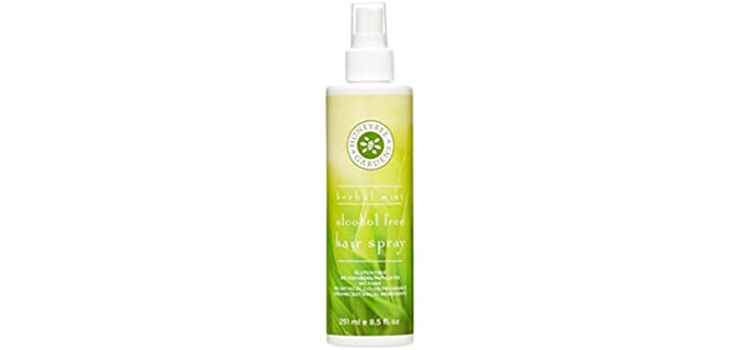 Honey Bee Gardens Herbal Mint - Alcohol Free Organic Hairspray