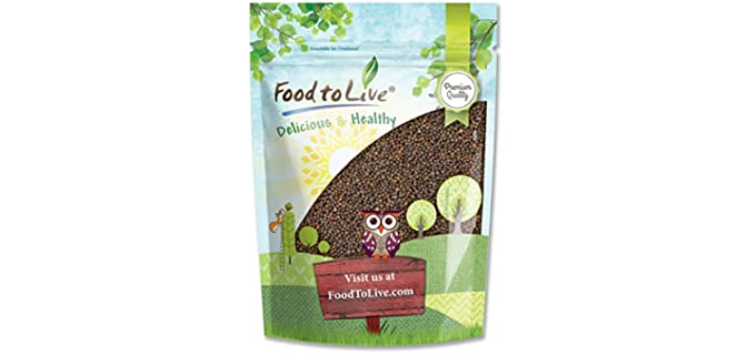 Food to Live Superfood - Organic Kale Seeds