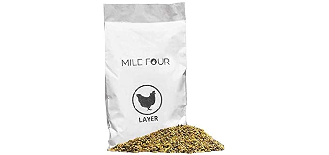 Mile Four Layer - Healthy Organic Chicken Feed