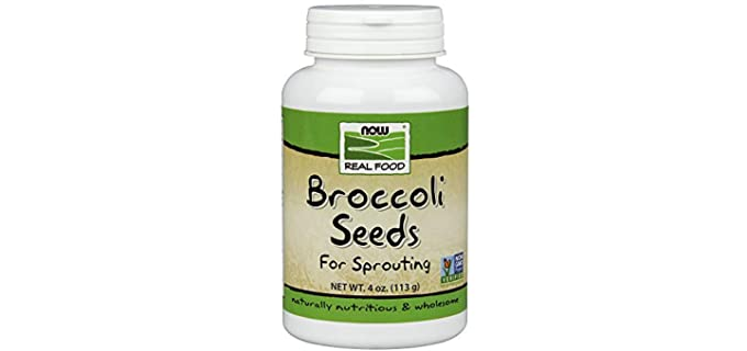 NOW Foods Natural - Broccoli Seeds For Sprouting