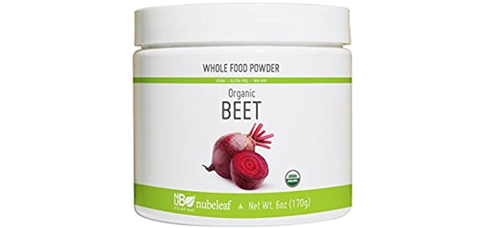 Nubeleaf Raw - Beet Powder