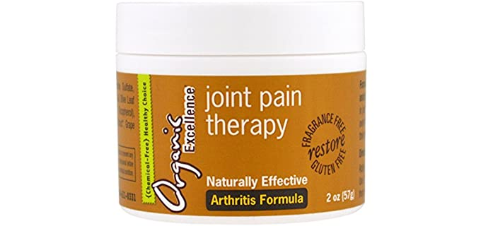 Organic Excellence Natural - Joint Pain Relief