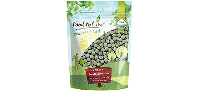 Food to Live Store Organic - Sprouting Green Peas