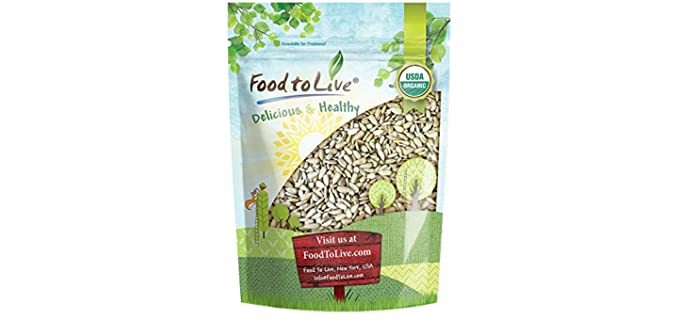 Food to Live Organic - Sprouted Sunflower Seeds