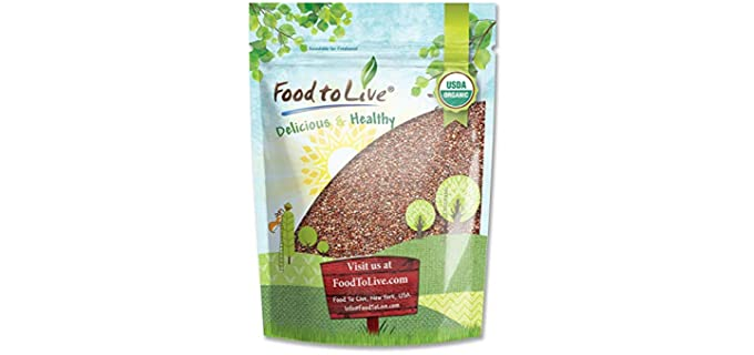 Food to Live Store Kosher - Organic Spicy Radish Sprouting Seeds