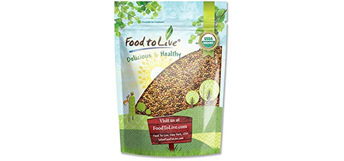Food to Live Store Spice Mix - Organic Radish Sprouting Bulk Seeds