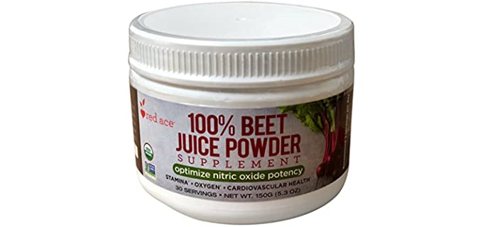 Red Ace Organic - Beet Juice Supplement Powder
