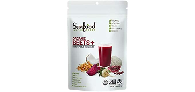 Sunfood Superfoods Blend - Beets and Mushrooms Powder