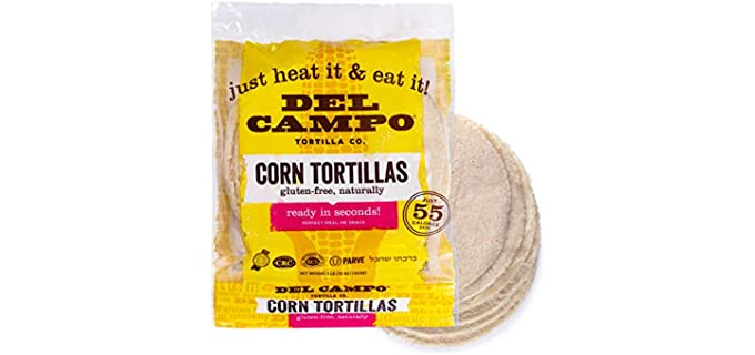 Del Campo Soft Corn Authentic - Taco Shells
