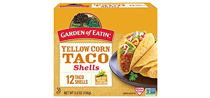 Garden of Eating Organic Yellow Corn - Taco Shells