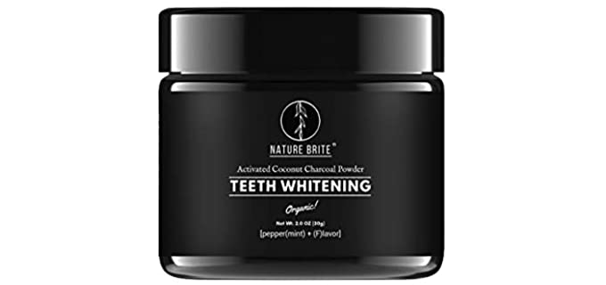 Nature Brite Oil-Based - Organic Teeth Whitening Powder
