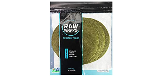 Raw Wraps Gluten Free Organic - Taco Shells and Wraps