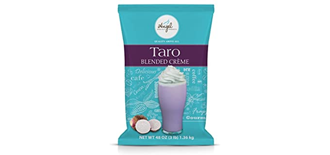 Angel Speciality Store Blended Creme - Taro Blend Powder