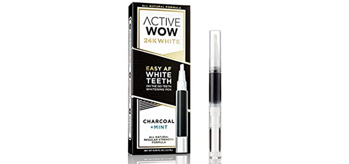 Active Wow Store Zero-Sensitivity - Organic Teeth Whitening Pen