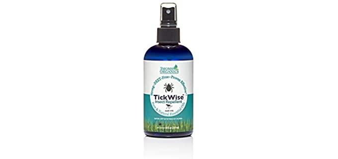 TickWise Easy Trigger - Tested Ticks Organic Spray