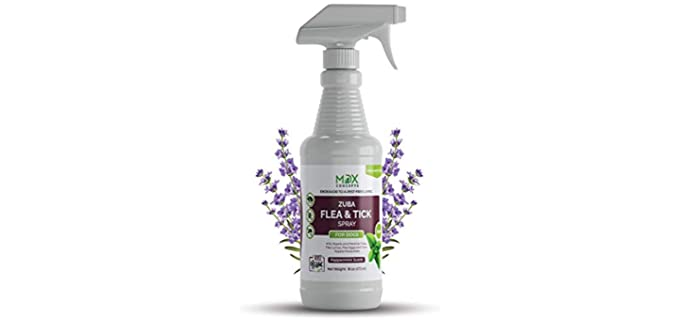 Mdxconcepts Peppermint Oil - Safe Organic Tick Spray
