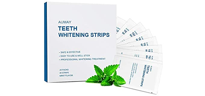 AUMAY Professional - Teeth Whitening Strips