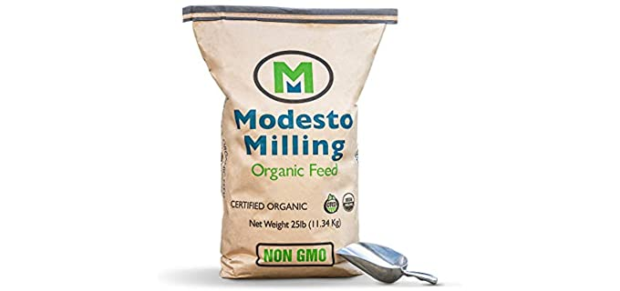 Modesto Milling Organic - Layer Crumbles Feed