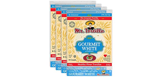 Mr. Tortilla Store Gourmet - White Tortillas