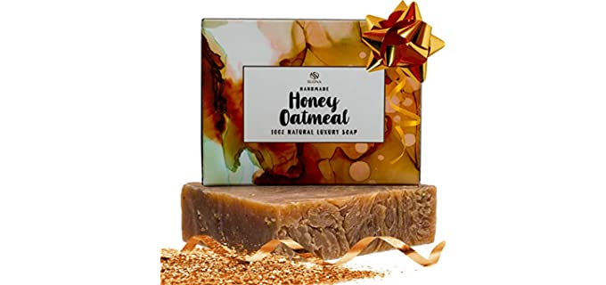 Suona Exfoliating - Oatmeal Honey Soap