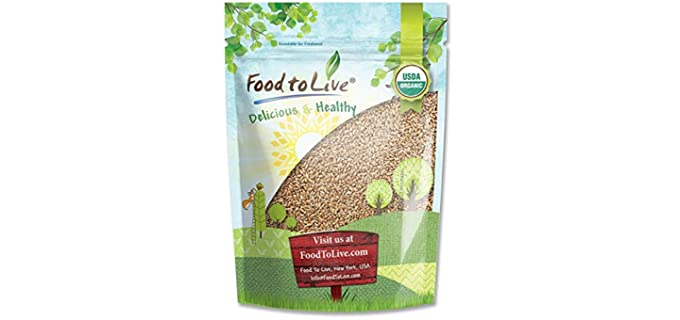 Food to Live Store Sproutable - Sugar Free Wheat Berries