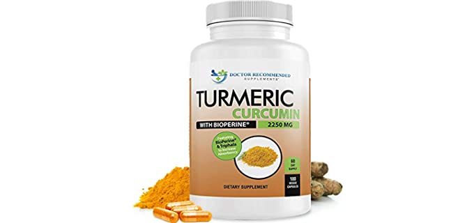 Doctor Recommended Supplements Triphala - Curcuminoids Capsules