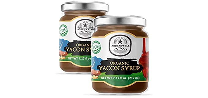 Andean Star Two-Pack - Organic Raw Yacon Syrup