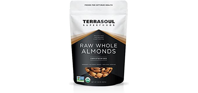 Terrasoul Superfoods Sproutable - US Grown Organic Almonds