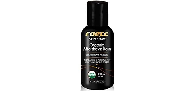 Force Skin care Balm–USDA - Instant Relief Organic Aftershave