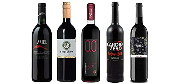 Various Wineries Organic - 5 Non-Alcoholic Wines